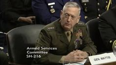 """Outgoing US Central Command chief James Mattis, """"I take the Israelis at their word"""""""