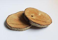 Podkładki drewniane pod kubek