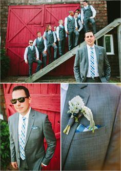 looks for the groom http://www.weddingchicks.com/2013/09/18/rustic-country-wedding-3/