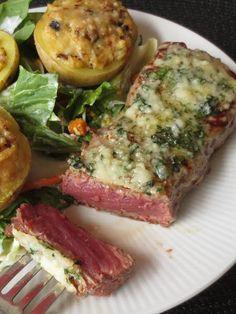 Gruss aus der Hexenküche: New York Strip Steak