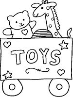Colouring: Toys