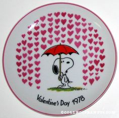 1978 Snoopy Plate