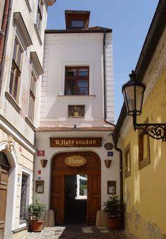 "Hotel ""U Zlaté studně"" (At the Golden Well), Prague, Czechia #city #houses #Czechia #Prague"
