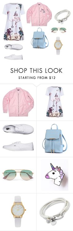 """Base set_color"" by grinok on Polyvore featuring мода, Vans, Gucci и Vivani"