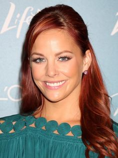 Might dye my hair dark red again like hers . But not till February I'm tired of doing my own hair :o)