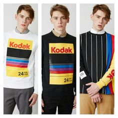 Mens fashion trends RETRO INSPIRED @SpikeJonze x @OpeningCeremony 2015 Fall/Winter #Kodak Capsule Collection  #mensblog #mensaccessories #menswear #mensfashionblog #complex #hypebeast #urban #cyclists #mensstyle #malemodels #mensouterweartrends #fashionnews #mensshirts #dapper #gq #graphics #retro  #streetwear #streetluxe #dandy #bespoke #mensfashiontrends #dandystyle #spikejonze #openingceremony