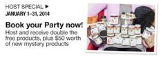 Book a party for January and receive double the rewards plus 50$ in mystery products! The Selection, Mystery, January, Website, Book, Party, Products, Books, Parties