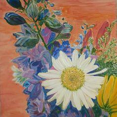 Jenny Flowers, Garden, Artist, Artwork, Painting, Style, Swag, Garten, Work Of Art