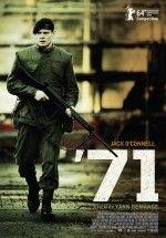 '71 (2014) Türkçe Dublaj ve Altyazılı 720p izlemek için tıkla: http://www.filmbilir.net/71-2014-turkce-dublaj-ve-altyazili-720p-izle.html    Süre: 100 Dk. Vizyon Tarihi: 2014 Ülke: İngiltere Kuzey İrlanda sorunun devam ettiği 1971 yılında Belfast'ta bir ayaklanma çıkar ve ayaklanmayı bastırmak üzere bölgeye askeri bir birlik gönderilir. Bu birliğin içinde yer alan Gary Hook adlı genç İngiliz asker, birlikleri tarafından bu bölgede unutularak birliğinden ayrı düşer.