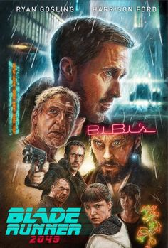 """welcome2creepshow: """"""""Blade Runner 2049"""" by Neil Davies """""""