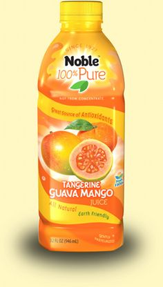 Noble Tangerine Guava Mango juice-- great plain or mixed with my Emergen-C Multi