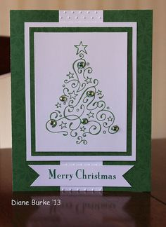 Christmas card by Diane's Sweet Treats - (Diane Burke), via Flickr ---lovely and so pleasing to the eye...mjr
