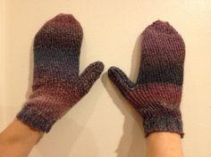 Sock Loom Mittens