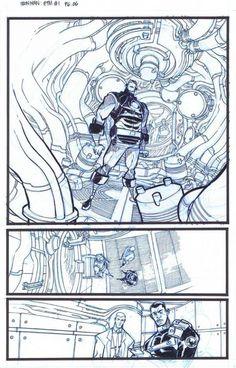 Eric Canete - Iron Man , Enter the Mandarin #1, Page 6