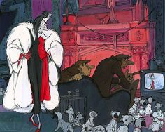 101 Dalmatians - Cruella's Crackpot Crew - Original - Jim Salvati - World-Wide-Art.com