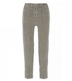 Rag & Bone Easier Printed Silk Straight-Leg Pants