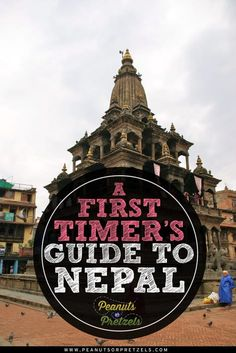 Nepal itself is small but emcompassing and having a first timer's guide to Nepal will help with your adjusting quickly to the food, transportation, and many more. From the plains of Terai to the roof of the world, it is so diverse, it has something to off Oh The Places You'll Go, Places To Travel, Travel Destinations, Places To Visit, Bhutan, Nepal Kathmandu, Travel Guides, Travel Tips, Asia Travel