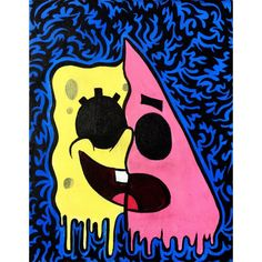 hippie painting ideas 634726141208873045 - Is Mayonnaise an instrument?… Source by gerriepelly Easy Canvas Art, Simple Canvas Paintings, Small Canvas Art, Cute Paintings, Mini Canvas Art, Artwork Paintings, Spongebob Painting, Spongebob Drawings, Cartoon Painting