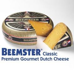 Aged Gouda, one of the world's most sought-after cheeses, has been made in the Netherlands for over 800 years. Beemster makes theirs in North Holland, where the grazing land is pure and lush. Dutch Cheese, Manchego Cheese, Cheese Dessert, Dutch Recipes, Wine Cheese, Gouda, Queso, 18 Months, Food And Drink