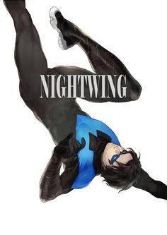 Nightwing By Eyin2000