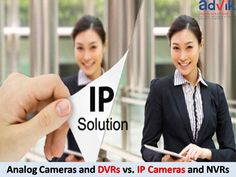 Analog Cameras and DVRs vs. IP Cameras and NVRs !!! Over the years, surveillance systems have evolved from the Analog #cameras to IP cameras, and from #DVRs to #NVRs. They may cost slightly more with a higher initial cost, but #IPCameras and NVRs are far superior to their older and outdated counterparts. Click here to read more:http://bit.ly/2jTjTvw