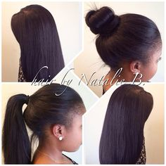 Check out my signature PERFECT PONY© SEW-IN HAIR WEAVE by Natalie B.!!!! Call or text me at 708-675-9351 to schedule your appointment. Hair available for sale online at www.naturalgirlhair.com.