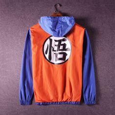 Chegada nova jaqueta de Beisebol De Dragon Ball Z Goku Cosplay Costumes Anime Show de Halloween Goku Moletom Com Capuz 80507