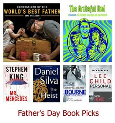 Father's Day Book Picks | MomTrends