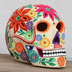 Sugar Skull Artwork, Sugar Skull Painting, Sugar Skull Decor, Sugar Skull Makeup, Ceramic Painting, Body Painting, Sugar Skull Costume, Sugar Skull Halloween, Halloween Makeup