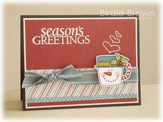 Snowman Mug by Torico - Cards and Paper Crafts at Splitcoaststampers