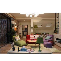 Бескаркасная мебель Ambient Lounge в современных гостиных придает дизайнерское наполнение, а её мобильность - возможность всё быстро переиграть.