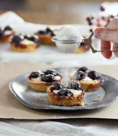 Cherry Cheesecake Tarts low carb and gluten free, have buttery pie crust tart shells with a cheesecake filling and a sweet cherry topping.