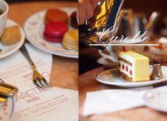 Avec Sofié blog/ #Paris #Carette #macarons