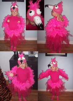 K's Hot Pink Flamingo costume for 2012