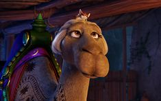 Download wallpapers Felix, camel, 4k, 2017 movie, 3d-animation, The Star
