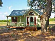 Dazzling Tiny Vintage Houses with a Stylish Design to Inspire You