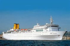 Costa Allegra ( imo nr. 6916885) Costa, Battleship, Steamers, Cruise Ships, Cruises, Oceans, Container, Passion, Beautiful