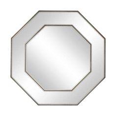 Octagan Silver Mirror