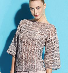 Hairpin Crochet Iridescent Top. Metallic and pearlescent thread added to yarn. http://www.phildar.fr/phproduct/2013/2/13/28159_0030_Z1.jpg http://www.phildar.fr/phproduct/2013/2/13/28159_0030_Z3.jpg