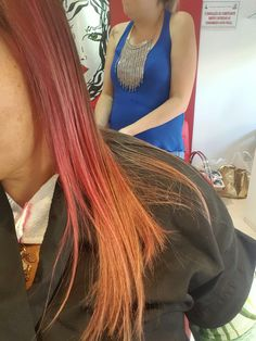 A saga do cabelo rosa rsss - Etapa 3