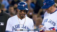 Devon Travis Devon Travis, Famous Baseball Players, Toronto Blue Jays, Blue Bird, Baseball Cards, Sports, Hs Sports, Sport
