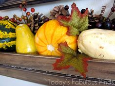 Today's Fabulous Finds: Fall {Paint Stick} Crate