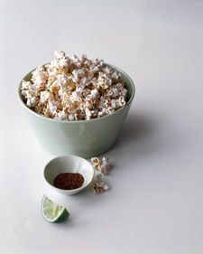 Instead of dousing popcorn in butter, give plain kernels heat and zing by sprinkling them with chili powder and lime zest. The snack will be just as tasty but lower in calories -- and cholesterol-free.
