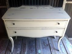 Painted chest by A to Z Custom Creations