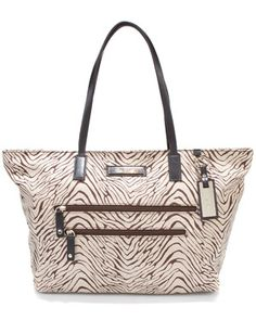 Calvin Klein 'East/West' Nylon Tote