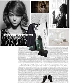 """""""Barbara Palvin by Papo Waisman for Tiger Magazine"""" by angel-from-heaven ❤ liked on Polyvore"""