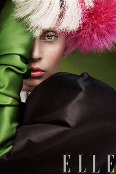 ELLE October 2013: Lady Gaga's cover inspiration