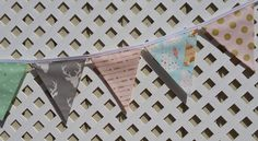 Woodland Nursery, Teepee Banner, Tee Pee Woodland Gray, Pink, Mint, Teal, Gold Arrows Baby Shower Woodland First Birthday Baptism Photo Prop by GmaCustom4You on Etsy