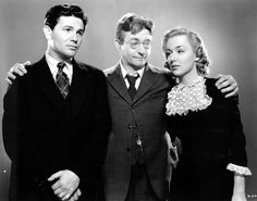 John Garfield, Claude Rains and Anne Shirley - SATURDAY'S CHILDREN Classic Hollywood, Old Hollywood, Claude Rains, John Garfield, Anne Shirley, Face Men, Babe, Front Row, Movie Stars