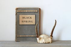 Hey, I found this really awesome Etsy listing at https://www.etsy.com/listing/182416568/vintage-henry-miller-black-spring-book